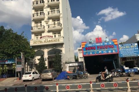 Cho thuê nhà MT Tân Sơn Nhì, 5x27, 1 hầm, 7 lầu, 100tr/tháng
