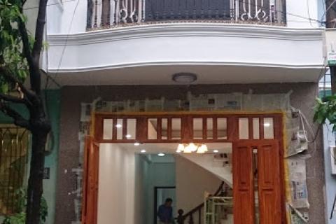 Cho thuê nhà Tân Kỳ Tân Quý, 4x16, 1 lầu, 2pn, hẻm xe hơi, 10tr/t