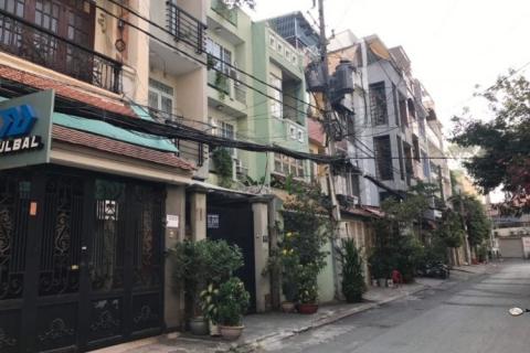 Cho thuê nhà hẻm 465 Tân Kỳ Tân Quý, 4x14, đúc 3,5 tấm, 4pn, 4wc, 15 triệu/tháng