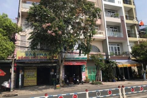 Cho thuê nhà MT Trần Hưng Đạo, 5x17, 1 hầm, 2 lầu, st, đúc 4 tấm, 30 tr/t