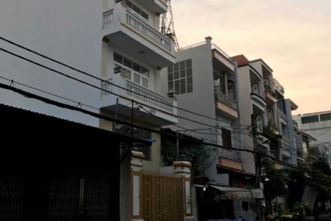 Bán nhà MT Trần Thủ Độ, 5x20, 4 lầu, đúc 5 tấm, 7pn, 8wc, 12.5 tỷ