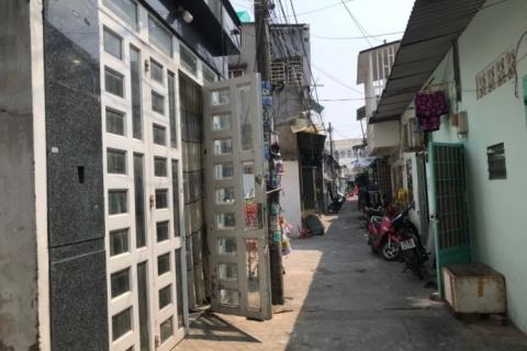 Bán nhà đường Đỗ Thừa Luông, 4x17, gác suốt, 4.2 tỷ