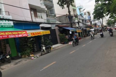 Bán nhà MT Nguyễn Ngọc Nhựt, 4x19, gần ngã ba Tân Hương, 7.5 tỷ