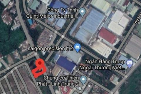 Bán đất MTKD (30m) đường Ngô Chí Quốc, Thủ Đức, full thổ cư 8,3x38m. Giá 45tr/m2 tl