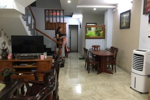 Cho thuê nhà MT Nguyễn Văn Tố, 4.5x18, đúc 3,5 tấm, 22 triệu/tháng