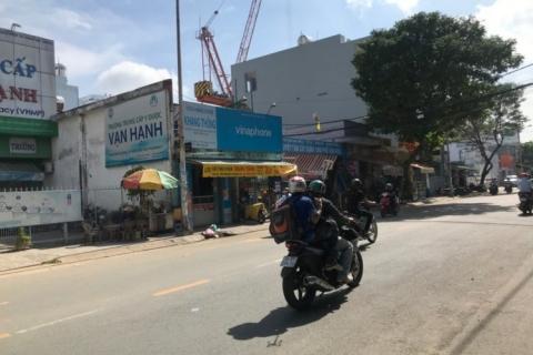 Cho thuê nhà MT Tân Sơn Nhì, 7x35, gần ngã tư Gò Dầu, 60tr/t