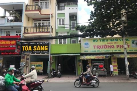 Bán nhà Nguyễn Cửu Đàm, 4x15, 2 lầu, 4pn, nhà mới đẹp, 6.8 tỷ