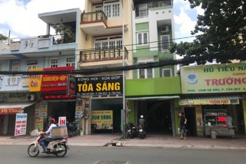 Bán nhà MT Tân Sơn Nhì, 4x16, đúc 3,5 tấm, 13.5 tỷ
