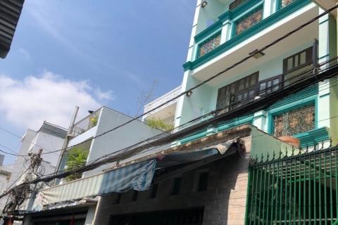 Bán nhà 72/28 đường Huỳnh Văn Nghệ, 5x15, đúc 3,5 tấm, 4pn, 5wc, nhà mới đẹp, 6 tỷ