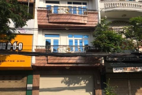 bán nhà MT 210 Nguyễn Hồng Đào, 5.5x13, 2 lầu, st, đối diện chợ Bàu Cát, 18.5 tỷ