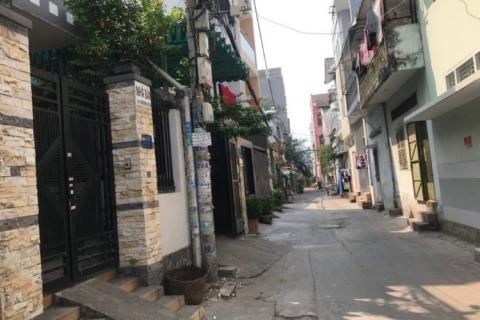 Bán nhà hẻm 156 Phú Thọ Hòa, 4x14, 1 lầu, 2pn, 4.1 tỷ