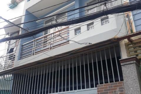 Bán nhà hẻm 63 Trần Văn Ơn, 4x15, đúc 3 tấm, 4pn 4wc, ngay chợ Trần Văn Ơn, 6.25 tỷ