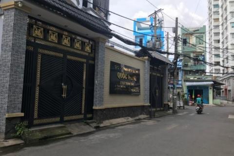 Bán nhà MT Nguyễn Lộ Trạch, 4.5x18, 1 lầu, nhà mới đẹp, gần Gò Dầu, 6.3 tỷ