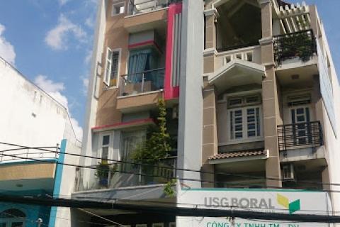 Cho thuê nhà MT 32 Nguyễn Cửu Đàm, 4x35, đúc 3,5 tấm, giá 35 tr/t