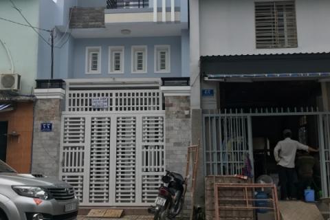 Cho thuê nhà hẻm 84 Tân Sơn Nhì, 4x15, 1 lầu, đường rộng 8m, 13,5 tr/t