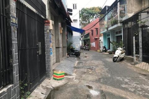 bán nhà Nguyễn Súy, 8x20, 1 lầu, sau lưng chợ Tân hương, 8.2 tỷ