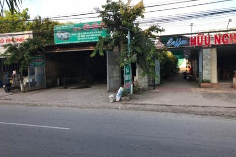 Bán BT MT 1500m2, MT Quốc lộ 57, huyện Long Hồ, Vĩnh Long, ngay bệnh viện Vĩnh Long 6 tỷ