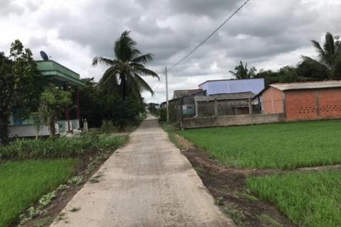 Bán đất Cao Thị Mai, 10x25, gần UBND xã Bình Trinh Đông, Tân Trụ, Long An, 600 triệu