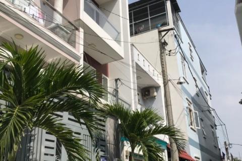 Bán nhà hẻm 366 Gò Dầu, 4x14, đúc 4 tấm, 5pn, 6wc nhà mới đẹp, 6.9 tỷ